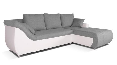 Canapé D 39 Angle Design En Pu Gris Canape Design D Angle Maison Design Wiblia Com