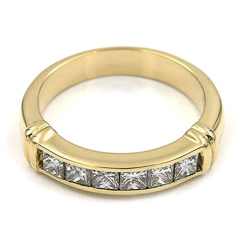 princess cut diamond rings second jewellery buy and sell preloved
