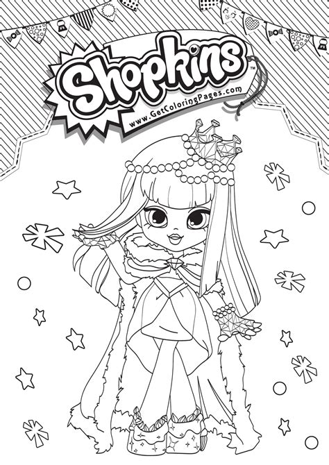 shopkins shoppies coloring pages getcoloringpagescom