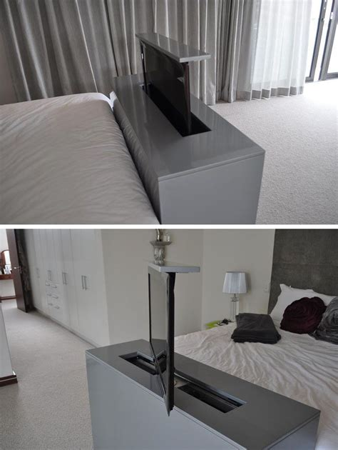 Bedroom Tv Stand Australia by 7 Ideas For Hiding A Tv In A Bedroom The Tv Built Into