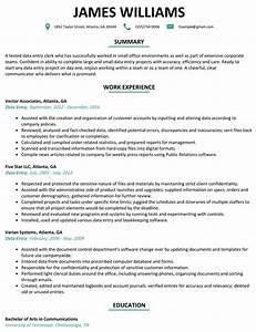 sample cover letter for data entry clerk position - data entry resume sample