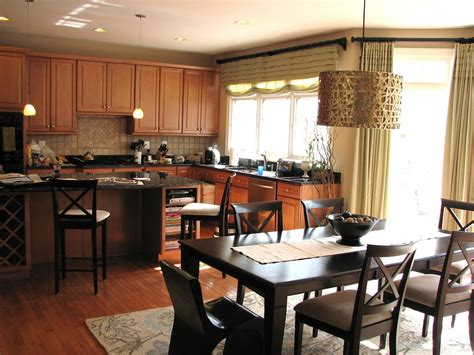 pure style home client project kitchen family room plans