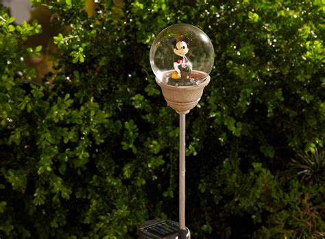 mickey solar pathway lights disney outdoor lighting at kmart