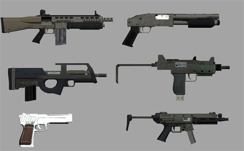 [sa wip conv]gta V Weapons To San Andreas