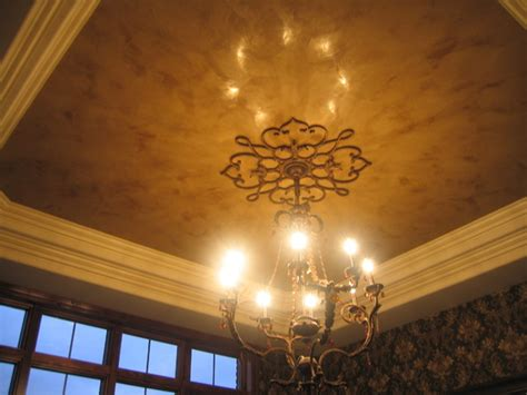 Italian Ceiling by Tray Ceiling Italian Venetian Plaster Traditional