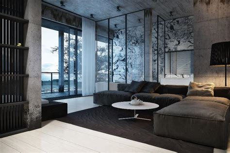 grey home interiors dynamic modern designs from igor sirotov