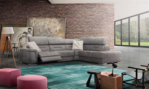 home center canapé canapé d 39 angle relax tissu domino home center