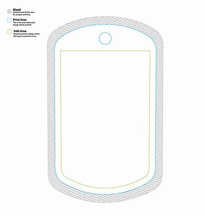 Templates Dog Tag Template Dogtag Viralstyle