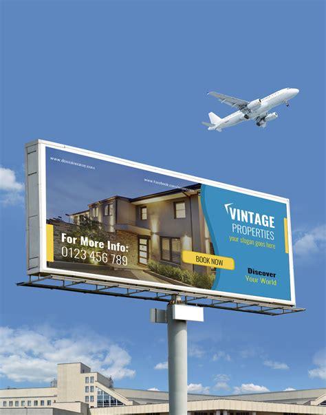 billboard template free property billboard template