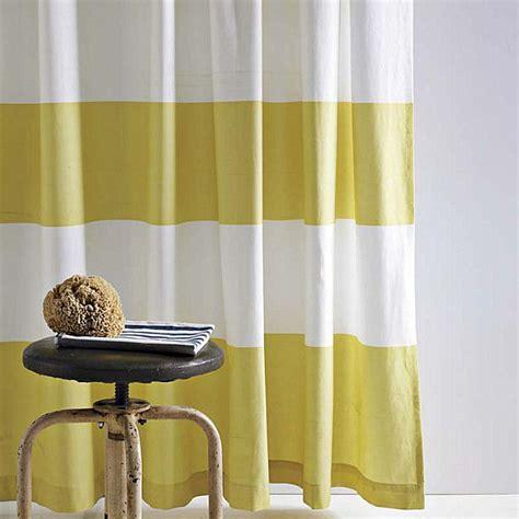 striped shower curtain refreshing shower curtain designs for the modern bath