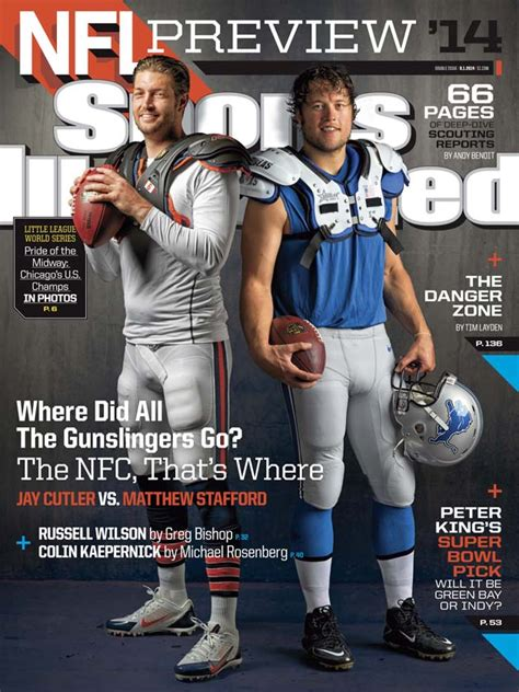 sports illustrated nfl covers ft nfc qbs  rodgers