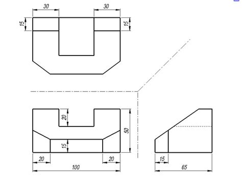 isometric  orthographic drawing worksheets ourclipart