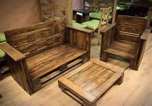 Decoracion con palets - ideas para muebles de diseño casero