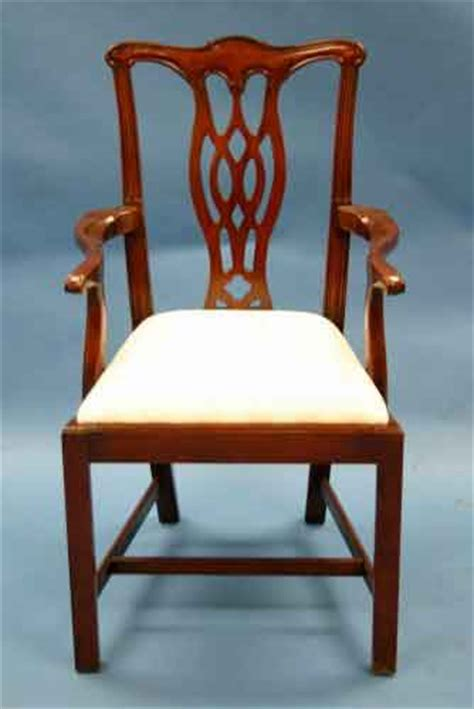 mahogany chippendale dining chairs for sale antiques