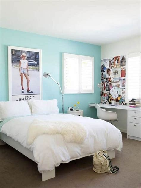 bedroom calming blue paint colors for small teen bedroom