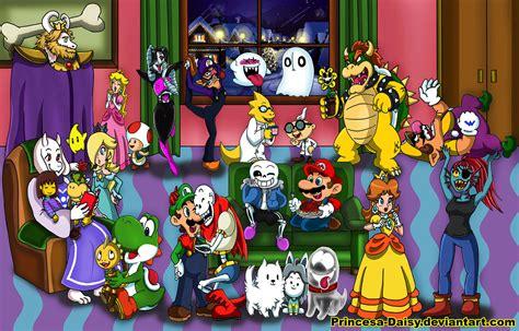 Mario Meets Undertale By Princesa Daisy On Deviantart