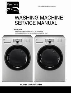 Kenmore 40441 Washer Service Manual And Repair