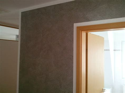 Wischtechnik Wand Grau by Wand Wischtechnik In Grau Mit Wei 223 En Effekt Pigmenten