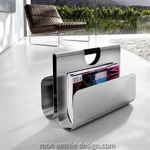 Porte Revue Design : porte revue design en inox wactor de blomus ~ Melissatoandfro.com Idées de Décoration