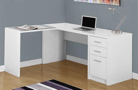 white corner computer desk white corner computer desk w tempered glass monarch