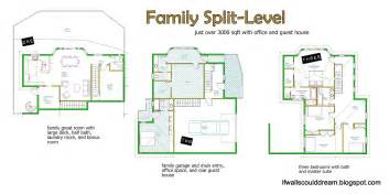 if walls could family split level