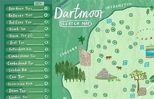 Dartmoor Scratch Map