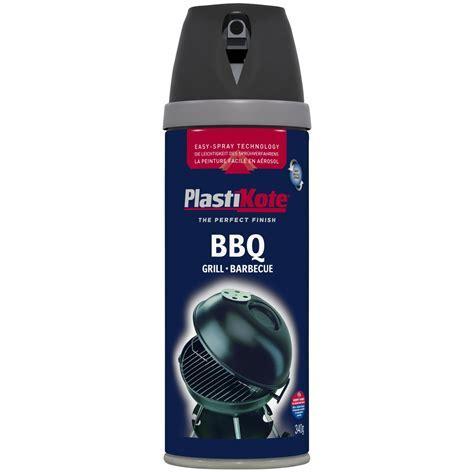 Plasti kote Black Satin Barbecue paint   Departments   DIY