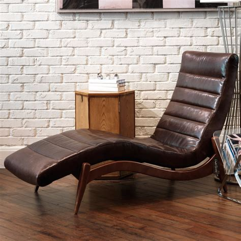 leather chaise lounge chairs indoors furniture fashion15 fresh and cool indoor chaise lounge ideas