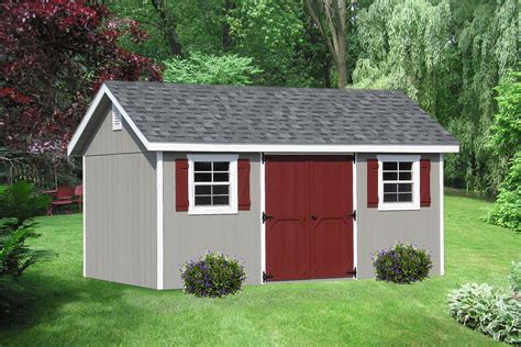 This Garden Shed Has The Perfect Color Combinations. Don't