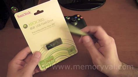 Memoria USB Sandisk para XBOX 360 - Review - YouTube