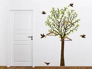 Baum Als Garderobe : wandbilder aus wandtattoos und passenden blog ~ Buech-reservation.com Haus und Dekorationen