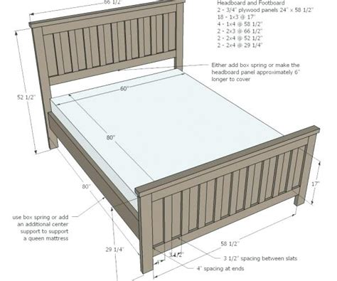 Queen Size Bed Dimensions Centimeters