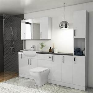Oliver, 2200, Fitted, Bathroom, Suite
