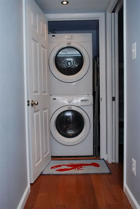 washer dryer closet depth home design ideas