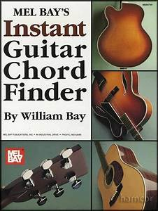 Instant Guitar Chord Finder Guitar Chord Book 9781562225452