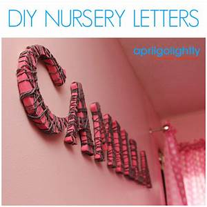 Diy nursery letters april golightly for Making wooden letters