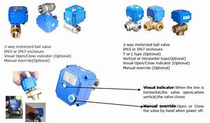 Mini Motorized U0026electric Ball Valve For Automatic Water