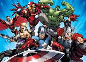 XXL poster wall mural wallpaper Marvel The Avengers Iron