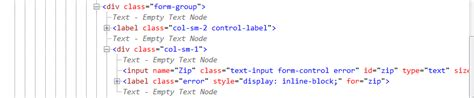 html jquery validation error label stack overflow