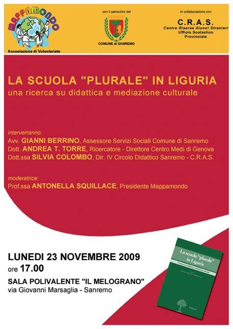 Ufficio Provinciale Scolastico Genova - la scuola plurale in liguria