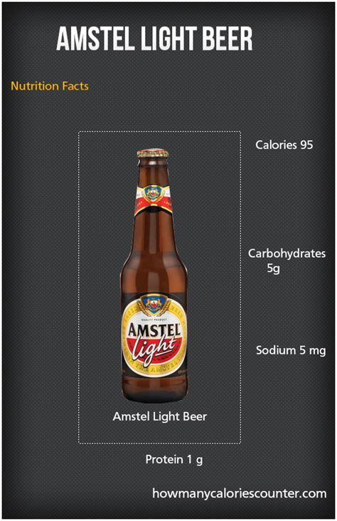 Calories In Amstel Light by How Many Calories In Amstel Light How Many Calories