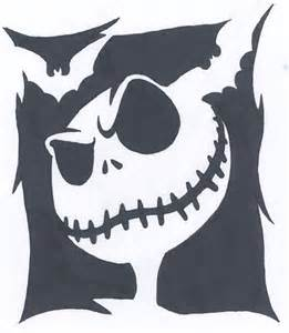 Stencil Nightmare Before Christmas Jack Shirt