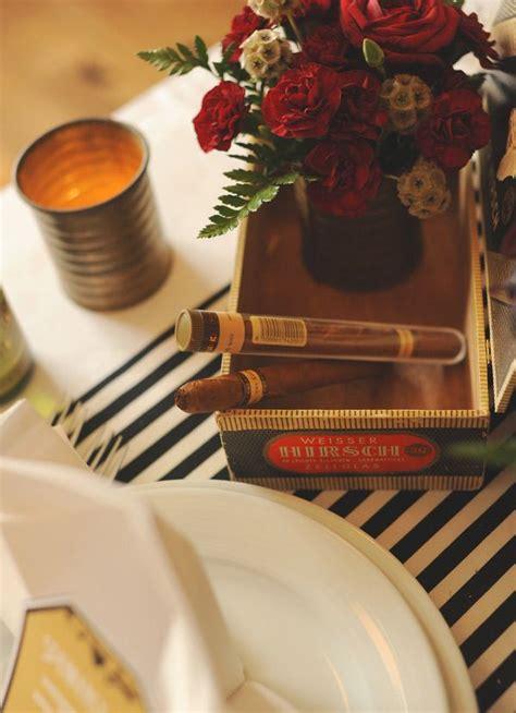 cigar box centerpieces images  pinterest