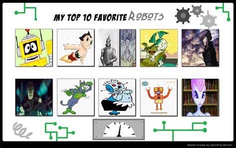 My Top 10 Favorite Robots By Katiegirlsforever On Deviantart