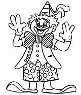 Clown Coloring Pages Cute Jester Kid Female Print Template Printable Krusty Getcolorings Getcoloringpages Getdrawings Dentistmitcham Mentve Innen Sketch Evil sketch template