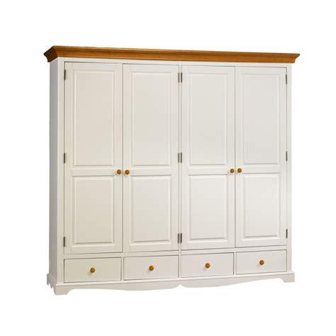 grande armoire chambre grande armoire penderie blanche et miel beaux meubles