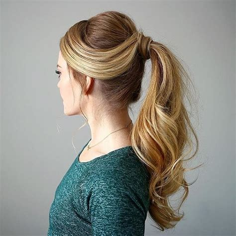 25 Cool High Ponytail Hairstyles ? More Ideas to Try!