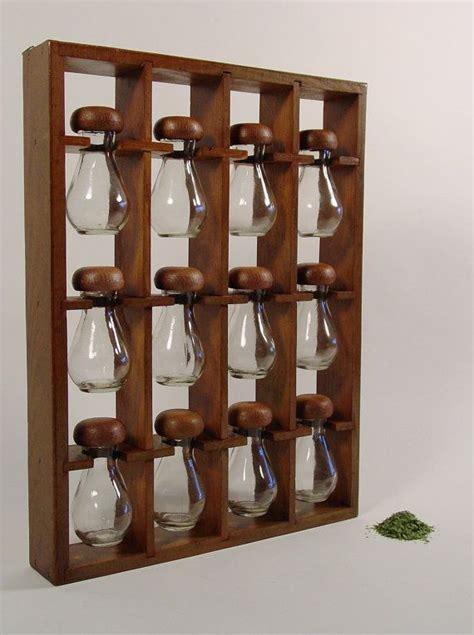 Hanging Spice Racks For Kitchen by 25 Best Ideas About Wooden Spice Rack On