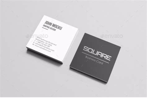 square business card mockup templates mashtrelo