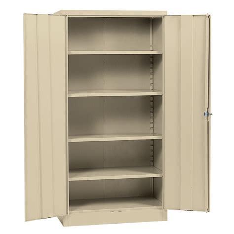 Metal Cabinet - edsal 36 in w x 72 in h x 18 in d steel freestanding